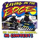 LIVING ON THE EDGE KART RACING NO LIMITS NO DOUBTS NO CONTEST T-SHIRT  R6