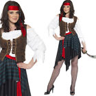 Women's Pirate Fancy Dress Costume – Ladies Caribbean Wench Outfit Smiffys 20470
