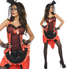 Women's Burlesque Fancy Dress Costume – Moulin Rouge Madame / Can Can Outfit