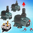 Aquarium Fish Tank Pond Submersible Water Pump 750L/H 950L/H 1350L/H