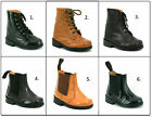 KIDS BOYS INFANTS NEW REAL LEATHER CHELSEA DEALER BOOTS SCHOOL SMART SHOES SIZE