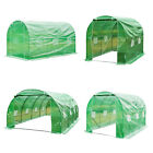 Dome Polytunnel Greenhouse Poly Tunnel Green House Galvanized Frame 2014 New