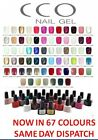 CCO UV NAIL GEL POLISH FOR SHELLAC NAILS PROFESSIONAL SOAK OFF TOP BASE COAT