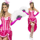 1920s Womens Pink Burlesque Dancer Costume 1930s 1940s Fancy Dress