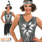 1920s Cocktail Fancy Dress Ladies Flapper Charleston 20s Costume Outfit UK 8-30