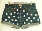 Vintage Levis shorts reworked with gold studded Daisy embellishment