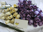 FREE MOTHERS DAY GIFT CARD IVORY LILAC LAVENDER WOODEN ROSES GRASSES WHOLESALE