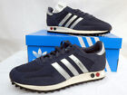 MENS ORIGINAL ADIDAS LA TRAINERS NAVY/ SILVER ONLY UK SIZES 11  LEFT RRP £89.99