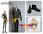 Hot Amnesia Toma Shoes Cosplay Costumes Boots Custom Made Wig Full Set