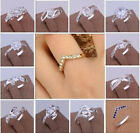 Wholesale Global Fashion Jewelry Holiday gift Solid 925silver Men/Women Ring+Box