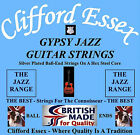 CLIFFORD ESSEX GYPSY JAZZ GUITAR STRINGS. MEDIUM & LIGHT GAUGE. MADE IN BRITAIN.