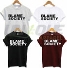 BLAME SOCIETY T SHIRT JAYZ TEE TOP JAY Z TSHIRT HIP HOP DOPE HIPSTER BEYONCE