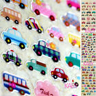 Colorful Transportation Car Crystal Computer Phone Scrapbooking Sticker CR008