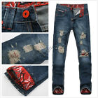 New Jeans Mens Stylish Designed Holes Jeans Pants Denim Stylish Trousers Q15