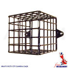 "Steel Mesh 5"" Square Wire Cage - Protect CCTV Cameras -External PIRs -Heavy Duty"
