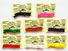 Kelly's Bluegill PreRigged Panfish Worm - Reveille Jr - 6 ct or 1 Doz - 8 Colors