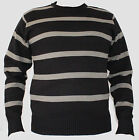 New Round Neck Men's Boys 100% Acrylic Long Sleeves Knitted Jumper Pull Over
