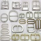 2pcs Bags metal buckle Leather Handbag Accessories stuffs silver gold