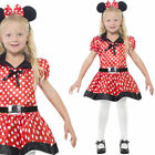 Girls Mouse Fancy Dress Costume + Ears Children's Fairytale Outfit Smiffys 26858