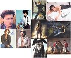 "Johnny Depp 10 x 8"" Signed PP Autograph - Set 2"