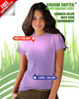 SHADOW SHIFTER BRIGHT Purple to Pink Color Changing Shirt blows away hypercolor