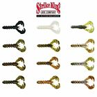 Strike King Rage Baby Craw Soft Plastic Bait - Select Color(s)