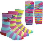 Ladies 6 12 Pairs Stripey Polo Designer Socks Shoe Sz 4-8 Colour Heel Toe Horse