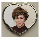 Union J George Shelly Heart Shaped Compact Mirror (Various Designs)