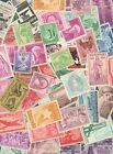 US Used Postage Stamp Collection Off Paper No Doubles In Envelopes