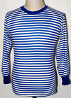 CHINESE ARMY PLA NAVY SAILOR LONG SLEEVE T SHIRT BLUE AND WRITE IN SIZES-31809
