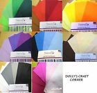 Dovecraft Felt Sheets Pack of 8 A4  in a choice of 8 colour schemes