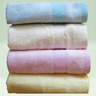 BAMBOO Bath TOWEL Baby Fiber Kids Soft Cloth Infant Nappy Toddler Diaper 4 Pack