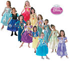 Kids Licensed Disney Princess Girls Book Week Fancy Dress Costume Party Dress Up