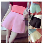 Womens Fashion Candy Color Slim Casual Shorts 4 Colors S M L R812