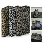 Open Leopard Leather Wallet Card Case Skin FHRG Cover Shell For Blackberry Z10