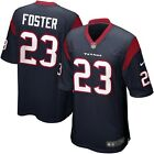 Nike Houston Texans Arian Foster #23 Home Jersey (Smudges on letters, numbers)