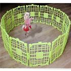 Dog Safe Fence Kennel Cage 12pcs Easy Assembly Pet Supplies 4color Pens Tracking