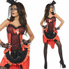 Damen ' S Burleske Kostüm – Moulin Rouge Madam/Can Outfit