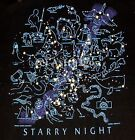 STARRY NIGHT--Constellations Mythology Astronomy Space Science T shirt S-3XL