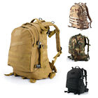 Men's Tactical Outdoor Molle Military Rucksacks Backpack Hiking Camping bag 40L