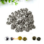 Snap Fasteners Heavy Duty Poppers Sewing Leather Jeans Jacket Canvas Buttons Kit