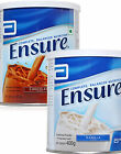 4 x Abbott Ensure or Chocolate Nutritional Powder Flavor UK Seller