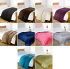 Mink Faux Fur Throw Fleece Blanket - All Colours and Sizes
