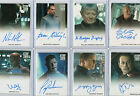 2009 2014 Star Trek Movies Autograph & Costume Relic Card Selection NM on eBay
