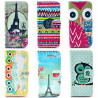 Sky Fly Balloon Owl Flowers Mobile Silicone Dust Holster For Apple iphone 5C