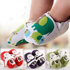 animal design baby shoes boys girls unisex size 0-18 months anti-slip stylish