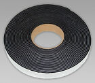 NEOPRENE RUBBER SELF ADHESIVE STRIP 10MTR 3MM, 6MM, 10MM THICK