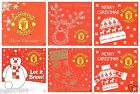 Manchester United FC Christmas Card Selection Xmas OFFICIAL Man Utd Gift