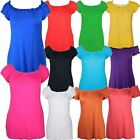New Ladies Plus Size Cap Sleeve Casual Gypsy Tops 14-28