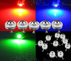 1W High Power Epistar Chip LED Bulb Diodes Lamp Beads Warm/White Multi Color New